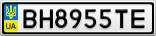 Номерной знак - BH8955TE
