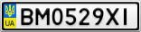 Номерной знак - BM0529XI