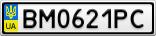 Номерной знак - BM0621PC