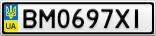 Номерной знак - BM0697XI