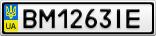 Номерной знак - BM1263IE
