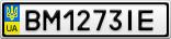 Номерной знак - BM1273IE