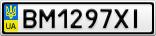 Номерной знак - BM1297XI