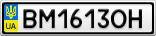 Номерной знак - BM1613OH