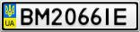 Номерной знак - BM2066IE