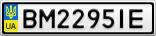 Номерной знак - BM2295IE