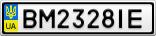 Номерной знак - BM2328IE