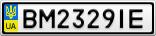 Номерной знак - BM2329IE