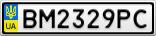 Номерной знак - BM2329PC