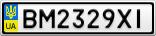 Номерной знак - BM2329XI