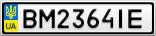 Номерной знак - BM2364IE