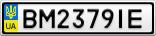 Номерной знак - BM2379IE