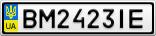 Номерной знак - BM2423IE