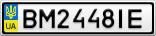 Номерной знак - BM2448IE