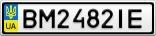 Номерной знак - BM2482IE