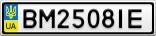Номерной знак - BM2508IE