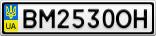 Номерной знак - BM2530OH
