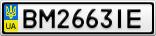 Номерной знак - BM2663IE