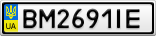 Номерной знак - BM2691IE