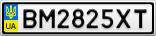 Номерной знак - BM2825XT