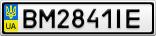 Номерной знак - BM2841IE