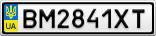 Номерной знак - BM2841XT