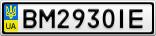 Номерной знак - BM2930IE