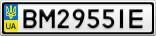 Номерной знак - BM2955IE