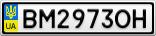 Номерной знак - BM2973OH