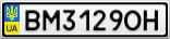 Номерной знак - BM3129OH