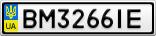 Номерной знак - BM3266IE