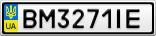 Номерной знак - BM3271IE