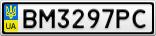 Номерной знак - BM3297PC