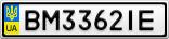 Номерной знак - BM3362IE