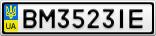 Номерной знак - BM3523IE