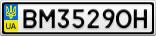 Номерной знак - BM3529OH