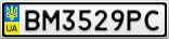 Номерной знак - BM3529PC