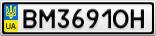 Номерной знак - BM3691OH