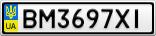 Номерной знак - BM3697XI