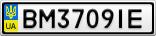 Номерной знак - BM3709IE