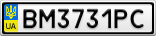 Номерной знак - BM3731PC