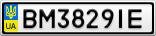 Номерной знак - BM3829IE