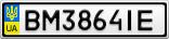 Номерной знак - BM3864IE