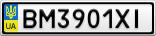 Номерной знак - BM3901XI