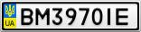 Номерной знак - BM3970IE