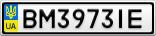 Номерной знак - BM3973IE