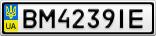 Номерной знак - BM4239IE
