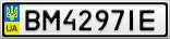 Номерной знак - BM4297IE