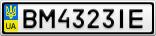 Номерной знак - BM4323IE