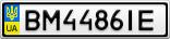 Номерной знак - BM4486IE